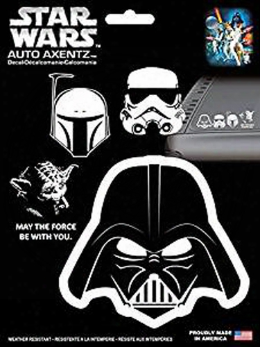 Star Wars Heads Family Decal Kit 4 Pc