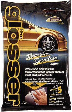 The Glosser Car Wax Wipes