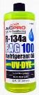 A/C Pro R-134a PAG 100 Refrigerant Oil With UV Dye 32 oz