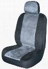 Gray Memory Foam Low-Back Bucket Seat Cover