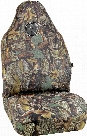 Wild Wood Camouflage Green Leaf Universal Bucket Seat Cover