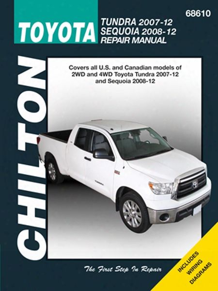 Toyota Tundra & Sequoia Chilton Repair Manual 2007-2012