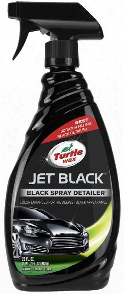 Turtle Wax Jet Black Spray Detailer 23 Oz