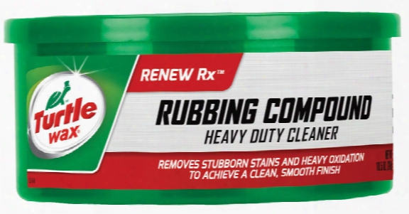 Turtle Wax Rubbing Compound Heavy Duty Cleaner 10.5 Oz.