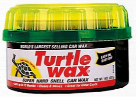 Turtle Wax Super Hard Shell Paste Wax 14 Oz.