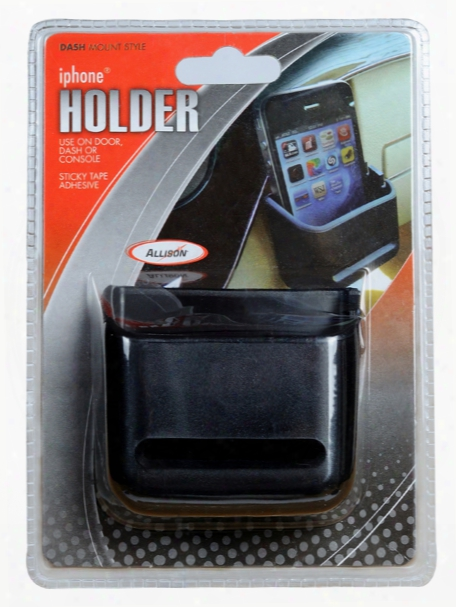Vehicle Dash Door Or Con Sole Iphone Holder