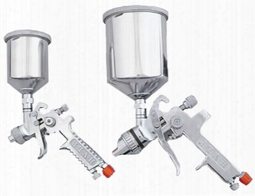 2 Piece Hvlp Spray Gun Set