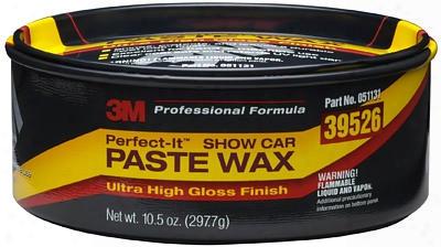 3m Perfect-it Show Car Paste Wax 10.5 Oz