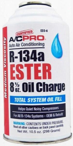 A/c Pro R-134a Ester Oil Charge 10.5 Oz