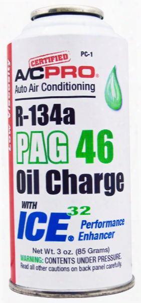 A/c Pro R-134a Pag 46 Oil Charge With Ice 32 3 Oz.