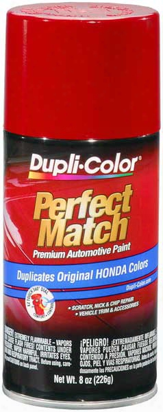 Acura & Honda Vehicles Milano Red Auto Spray Paint - R81 1992-2014