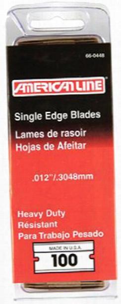 American Safety Razor Heavy-duty Razor Blades 100 Pack