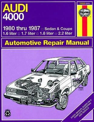 Audi 4000 Sedan & Coupe Haynes Repair Manual 1980-1987