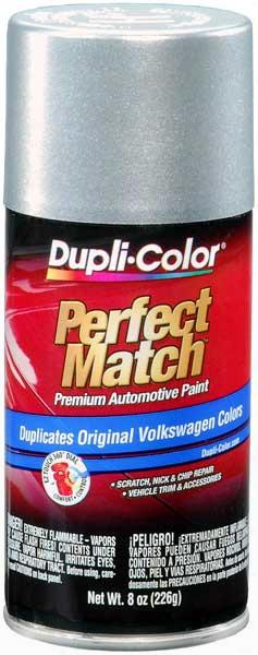 Audi & Volkswagen Metallic Reflex Silver Auto Spray Paint - La7w 2000-2014