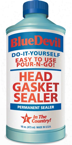 Blue Devil Head Gasket Sealer 16 Oz