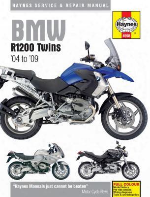 Bmw Haynes Repair Manual For R1200 Twins 2004 - 2009
