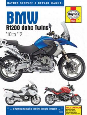 Bmw R1200 Dohc Twins Haynes Repair Manuals 2010-2012