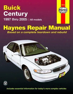 Buick Entury Haynes Repair Manual 1997-2005