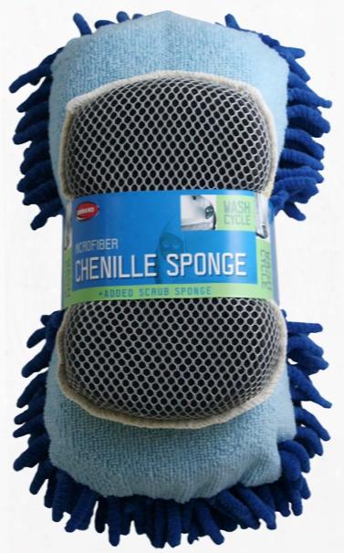 Carrand Microfiber 2-sided Scrub Sponge