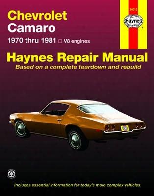 Chevrolet Camaro Haynes Repair Manual 1970 - 1981