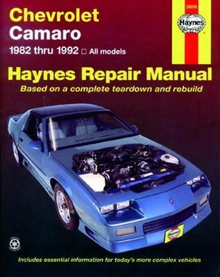 Chevrolet Camaro Haynes Repair Manual 1982-1992