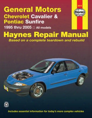 Chevrolet Cavalier & Pontiac Sunfire Haynes Repair Manual 1995-2005
