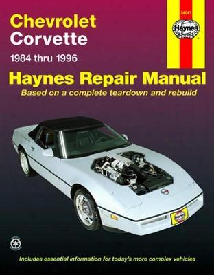 Chevrolet Corvette Haynes Repair Manual 1984-1996