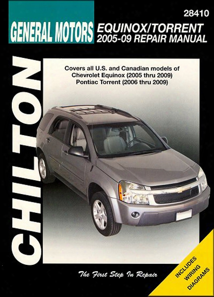Chevrolet Equinox & Pontiac Torrent Chilton Manual 2005-2009