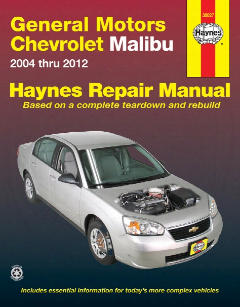 Chevrolet Malibu Haynes Repair Manual 2004-2012