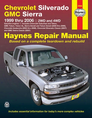 Chevrolet Silverado & Gmc Sierra Haynes Repair Manual 1999-2006