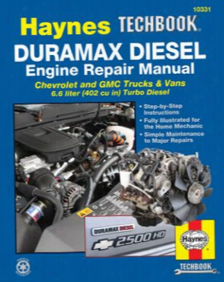 Chevy & Gmc Duramax Diesel Engine Haynes Techbook 2001-2012