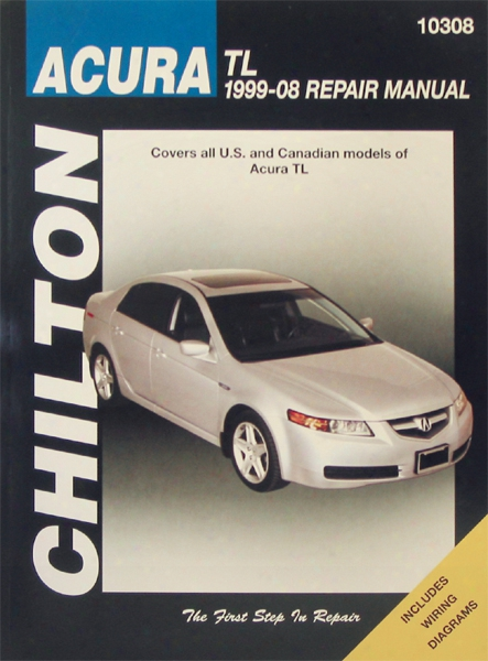 Chilton Repair Manual For Acura Tl 1999-2008