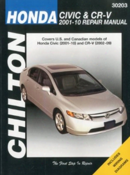 Chilton Repair Manual For Honda Civic & Cr-v 2001-2010