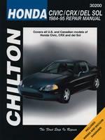 Chilton Repair Manual For Honda Civic Crx & Del Sol 1984-1995