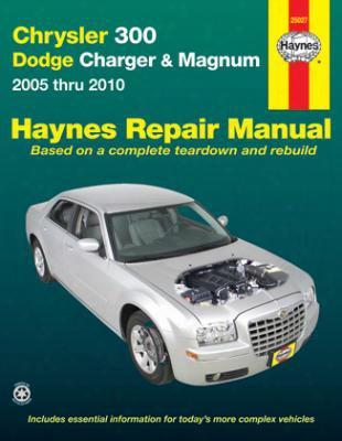 Chryser 300 Dodge Charger & Magnum Haynes Repair Manual 2005-2010