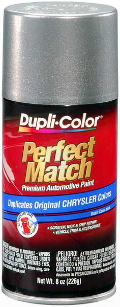 Chrysler - Dodge - Jeep Metallic Bright Platinum Auto Spray Paint - Ms4 Ps4 1994-2007