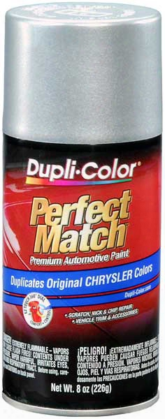 Chrysler - Dodge - Jeep Metallic Bright Silver Auto Spray Paint - Ps2 1999-2014