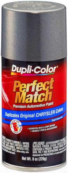 Chrysler - Dodge - Jeep Metallic Charcoal Gray Auto Spray Paint - Aa9 Pa9 1982-2010