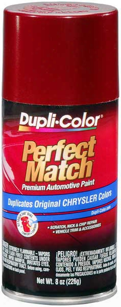 Chrysler - Dodge - Jeep Metallic Claret Red Auto Spray Paint - Pte 1994-1997