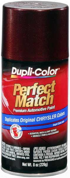Chrysler - Dodge - Jeep Metallic Director Red Auto Spray Paint - Mr8 Pr8 1992-2012