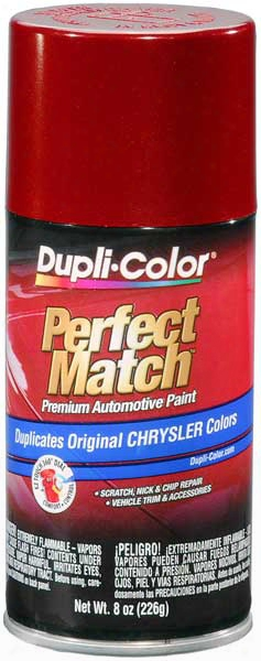 Chrysler - Dodge - Jeep Metallic Inferno Red Auto Spray Paint - Pel Wel 1999-2005