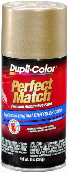 Chrysler - Dodge - Jeep Metallic Light Champagne Auto Spray Paint - Pv4 1990-1994