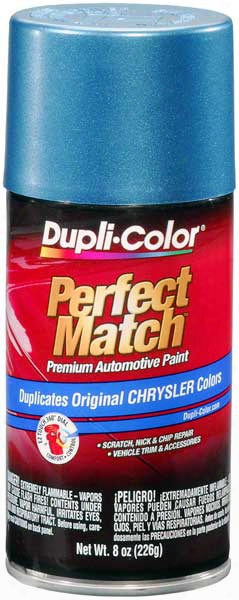 Chrysler - Dodge - Jeep Metallic Teal Auto Spray Paint - Lp5 Pp5 1994-1997