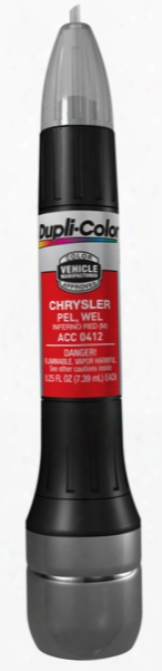 Chrysler Metallic Inferno Red All-in-1 Scratch Fix Pen - Pel Wel 1999-2005