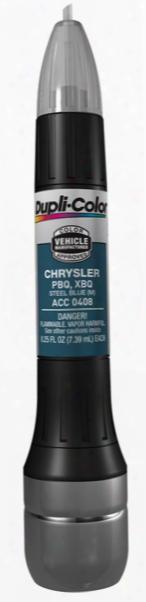 Chrysler Metallic Steel Blue All-in-1 Scratch Fix Pen - Pbq 2000-2012