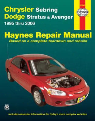 Chrysler Sebring & Dodge Stratus/avenger Haynes Repair Manual 1995-2006