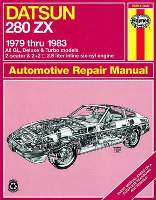 Datsun 280zx Haynes Repair Manual 1979 - 1983
