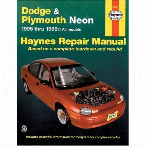 Dodge & Plymouth Neon Haynes Repair Manual 1995-1999