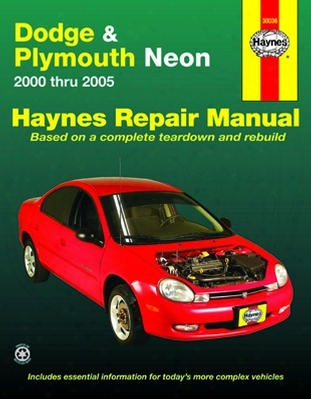 Dodge & Plymouth Neon Haynes Repair Manual 2000-2005
