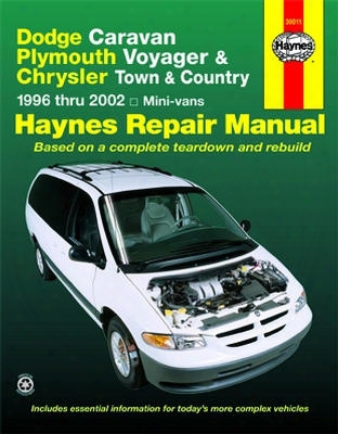 Dodge Caravan Plymouth Voyager & Chrysler Town And Country Haynes Repair Manual 1996-2002